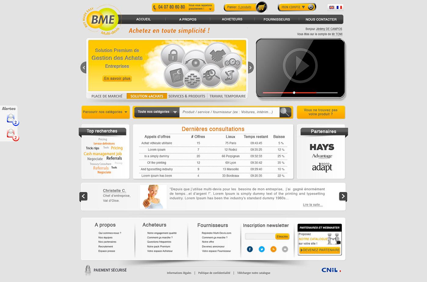 cr ation site internet de multi devis agence point com perpignan. Black Bedroom Furniture Sets. Home Design Ideas