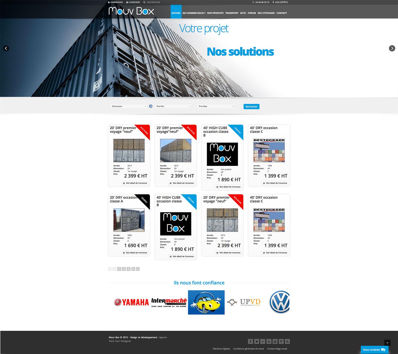Création site internet Perpignan : Mouvbox France