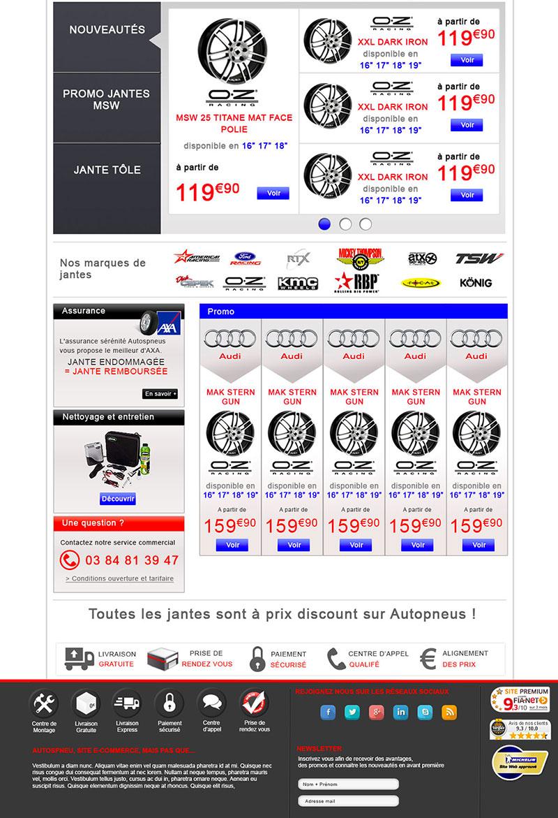Webdesign du site du garage du Hameau
